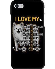 I Love My Samoyed Dog Phone Case tile