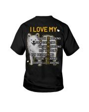 I Love My Samoyed Dog Youth T-Shirt thumbnail
