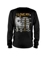 I Love My Samoyed Dog Long Sleeve Tee thumbnail