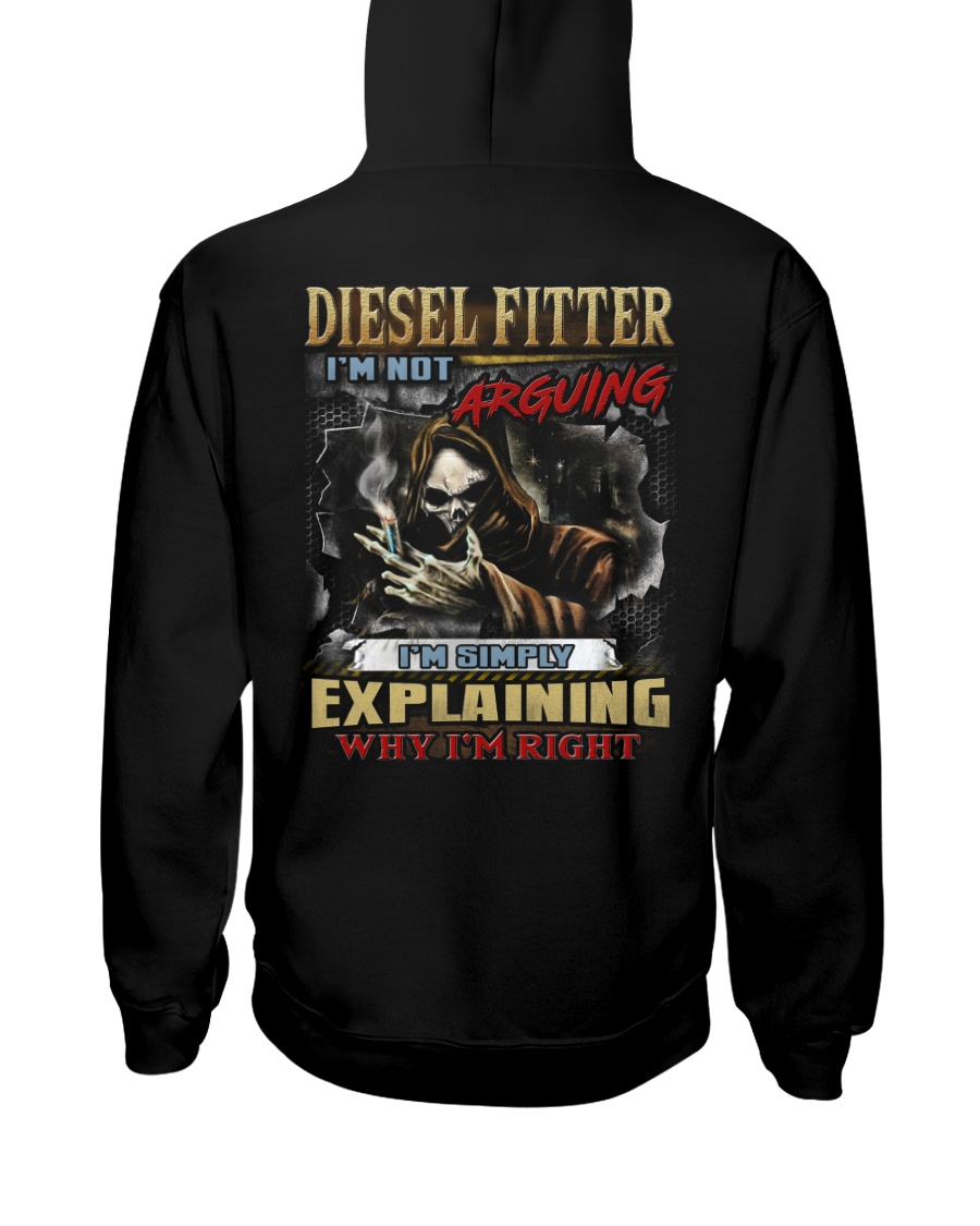 Diesel Fitter Hooded Sweatshirt