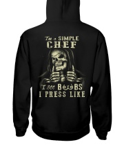 Chef Hooded Sweatshirt back
