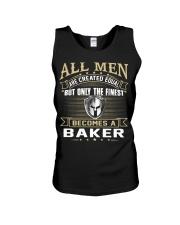 Baker Unisex Tank thumbnail