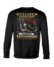 Kitchen Assistant Crewneck Sweatshirt thumbnail