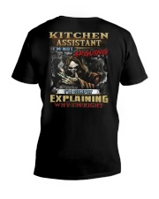 Kitchen Assistant V-Neck T-Shirt thumbnail