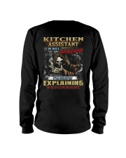 Kitchen Assistant Long Sleeve Tee thumbnail