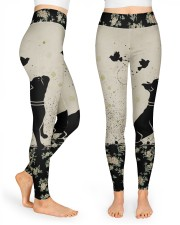 Frenchie All Over Shirt High Waist Leggings tile