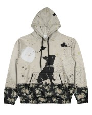 Frenchie All Over Shirt Women's All Over Print Hoodie tile