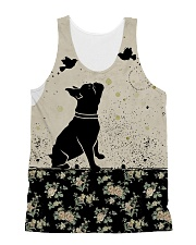 Frenchie All Over Shirt All-Over Unisex Tank tile