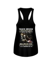 Truck Driver Ladies Flowy Tank thumbnail