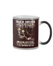 Truck Driver Color Changing Mug thumbnail