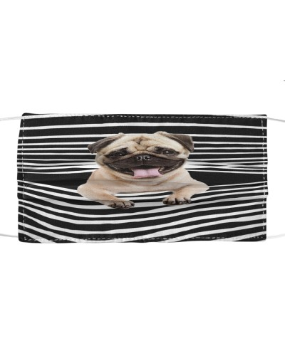 Pug Limited Edition Face Mask