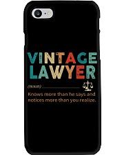 Vintage Lawyer Law Jobs Phone Case thumbnail