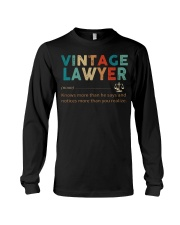Vintage Lawyer Law Jobs Long Sleeve Tee thumbnail