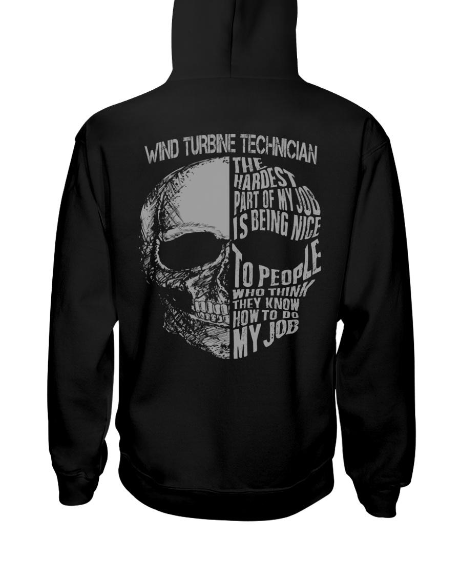 Wind Turbine Technician Exclusive Shirt Hooded Sweatshirt