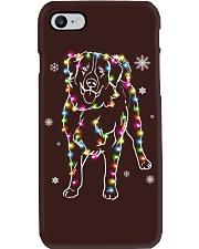 Bernese Mountain Dog Christmas Phone Case tile
