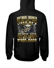 Software Engineer Hooded Sweatshirt back