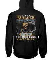 Builder Hooded Sweatshirt back