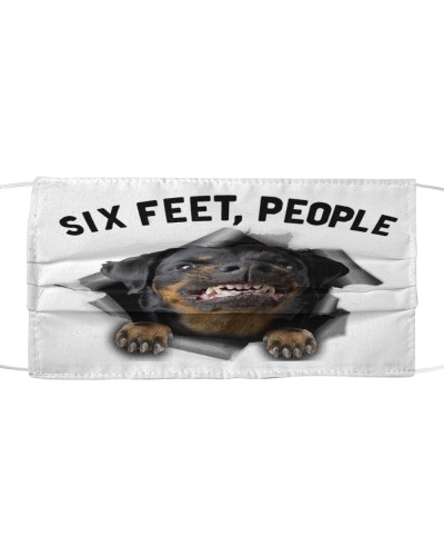 Rottweiler 6 Feet People Limited Edition