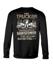 truck driver Crewneck Sweatshirt thumbnail