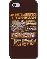 Aircraft Maintenance Technician Phone Case thumbnail
