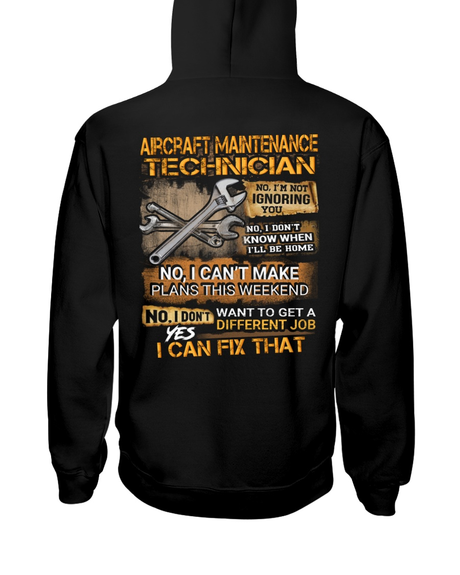 Aircraft Maintenance Technician Hooded Sweatshirt