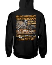 Aircraft Maintenance Technician Hooded Sweatshirt back