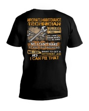 Aircraft Maintenance Technician V-Neck T-Shirt thumbnail