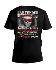 Bartender V-Neck T-Shirt thumbnail