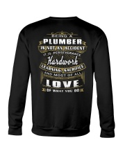Plumber Exclusive Shirt Crewneck Sweatshirt thumbnail