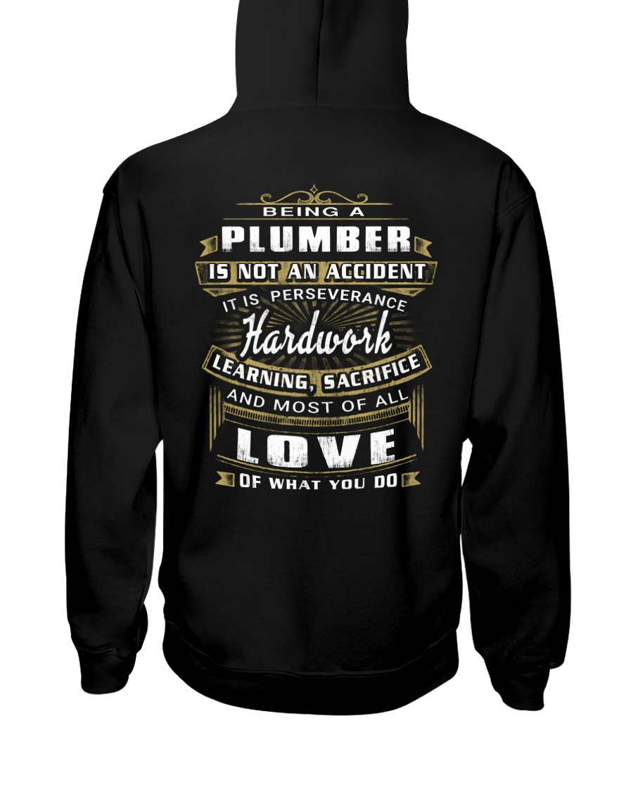 Plumber Exclusive Shirt Hooded Sweatshirt