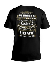 Plumber Exclusive Shirt V-Neck T-Shirt thumbnail