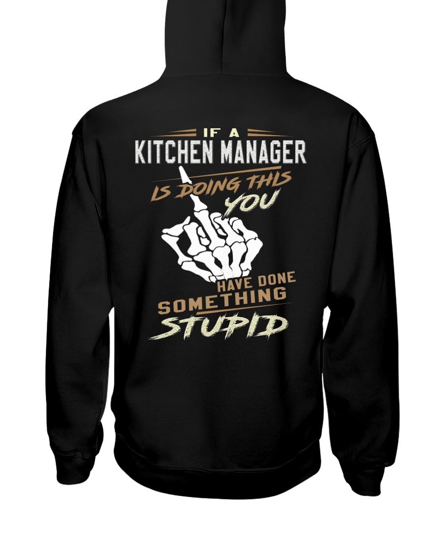 Kitchen Manager Hooded Sweatshirt