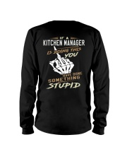 Kitchen Manager Long Sleeve Tee thumbnail