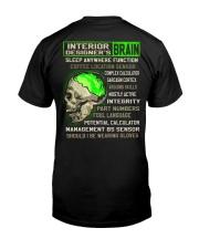 Interior Designer Classic T-Shirt back