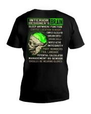 Interior Designer V-Neck T-Shirt thumbnail