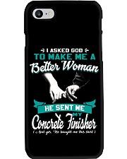 Concrete Finisher Phone Case thumbnail