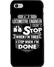Locomotive Engineer  Exclusive Shirts Phone Case tile