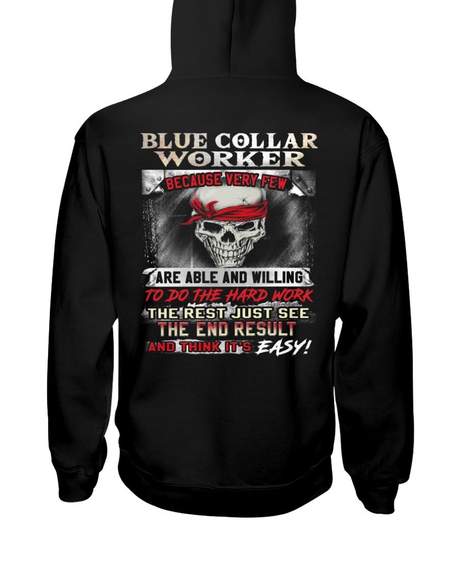 Blue Collar Worker Hooded Sweatshirt