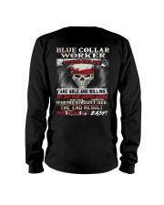 Blue Collar Worker Long Sleeve Tee thumbnail