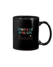 Vintage April Girl Mug thumbnail