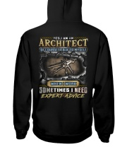 Architect Hooded Sweatshirt back