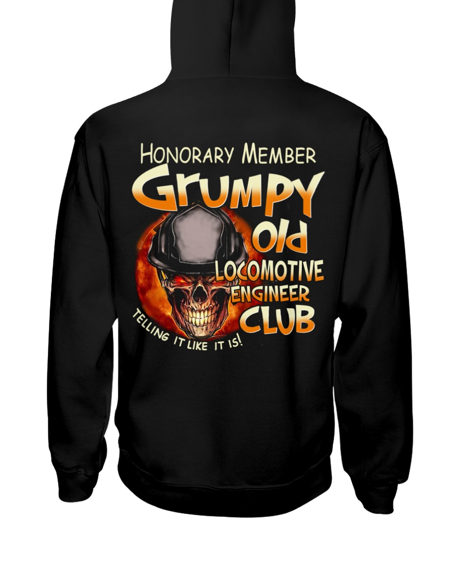 Locomotive Engineer Hooded Sweatshirt
