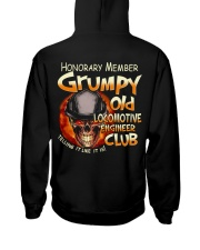 Locomotive Engineer Hooded Sweatshirt back