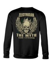 electrician shirt Crewneck Sweatshirt tile