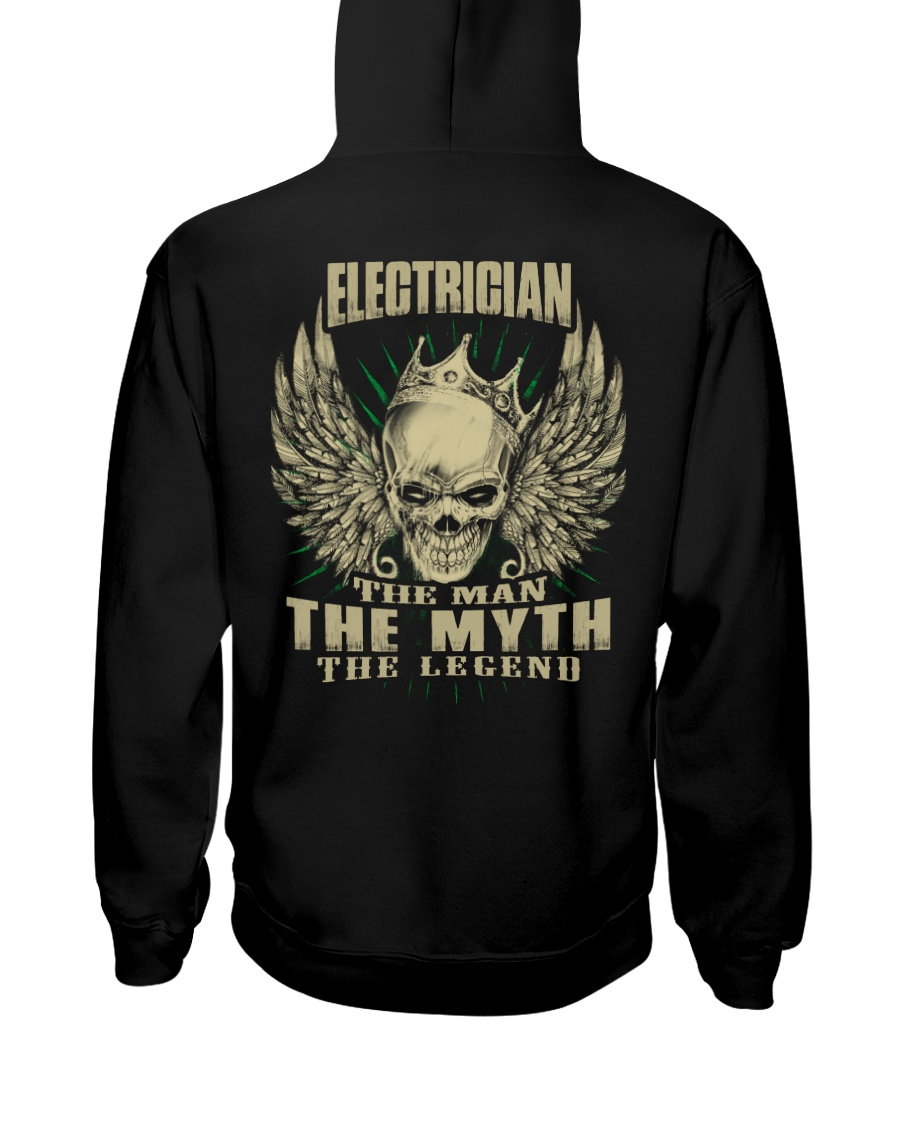 electrician shirt Hooded Sweatshirt