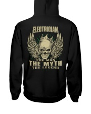 electrician shirt Hooded Sweatshirt back