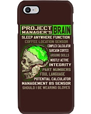 Project Manager Phone Case thumbnail