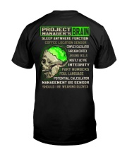 Project Manager Classic T-Shirt back