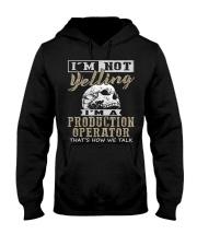 Production Operator Hooded Sweatshirt front
