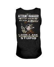 Account Manager Unisex Tank thumbnail